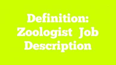 Definition: Zoologist  Job Description