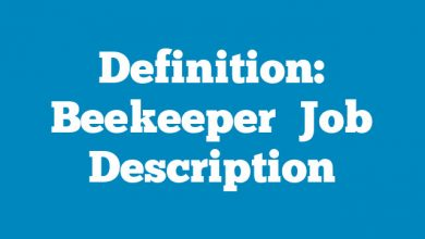 Definition: Beekeeper  Job Description